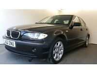 2002 | BMW 320i SE | AUTO | BLACK | SENSORS | 6 CD CHANGER | CRUISE | SERVICE HISTORY | 1 YEAR MOT