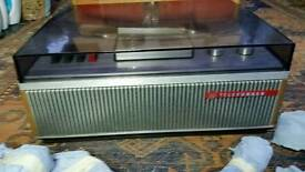 Tape recorder. Telefunken with box tapes and instructions.