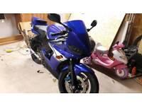 Yamaha r6 4266 miles