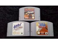 3x N64 GAMES FOR SALE OR SWAPS ???