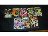 AVAILABLE IF LISTED. JOBLOT. 52 COMICS. New Sleeves. Runs. AMERICAN FLAGG! BREED etc. PICS and LIST