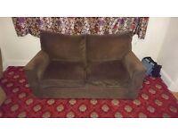 Brown Next brown sofa bed