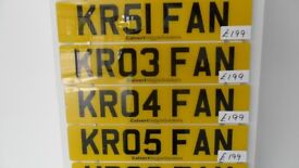 Cherished Number Plates for Hull Kingston Rovers Fans