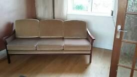 Danish 1960s three seater sofa for sale