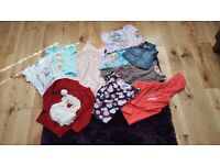 GIRLS CLOTHES BUNDLE 5-6YRS 10 ITEMS