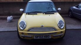 Mini Cooper 1.6 Liquid Yellow, spare or repair, Drives, Issue with 2nd gear only