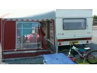 Abi jubilee envoy 4 berth caravan