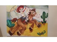 Toystory large 4ft×3ft canvas