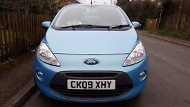 Ford Ka Zetec 1.2 2009 LOW MILEAGE! 30,000. 6 months MOT. LOW tax and ins