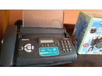 philips fax and phone machine