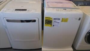 106- NEUF Laveuse Sécheuse Top Load LG Washer and Dryer  NEW
