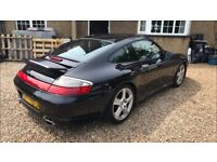 Porsche 911 996 C4S Manual Coupe, Stunning Appreciating Classic, New clutch Just fitted!