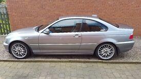 2004 BMW 320 Cd Semi-Auto Coupe.