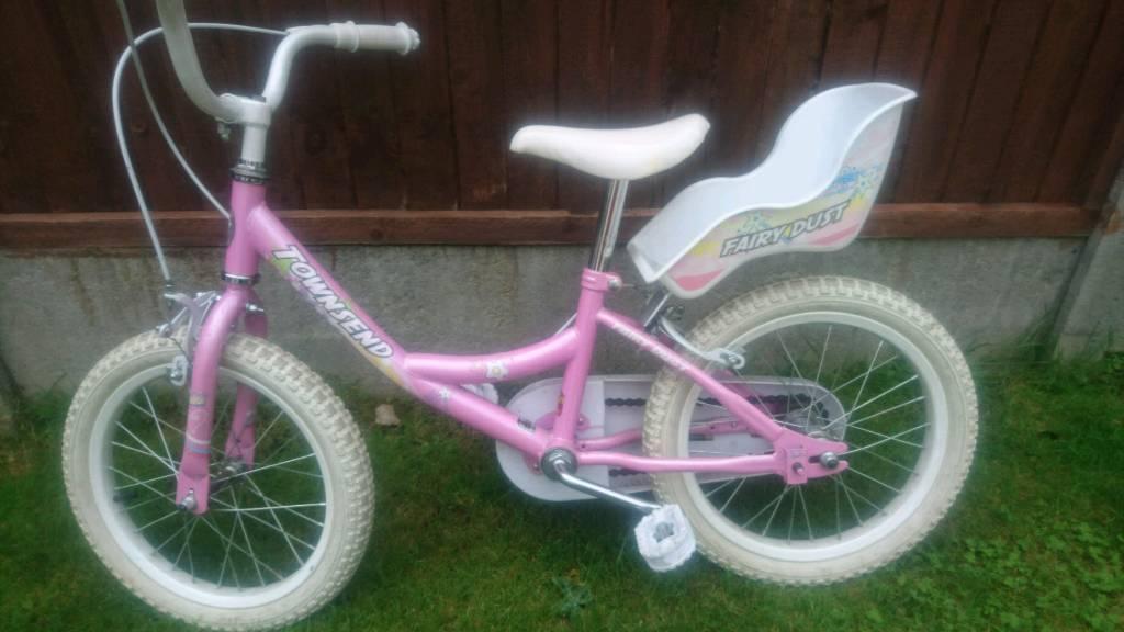 Girls Townsend bike 14inch