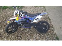 50cc motorbike for sale..... need new pull cord!