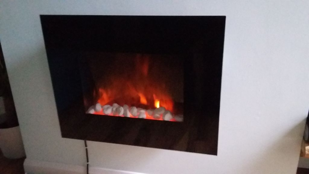 Wall Hung Fire Surrounds: Wall Mounted Electric Fire For Sale