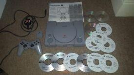 Sony PlayStation 1 (original) + game! *SPECIAL*.