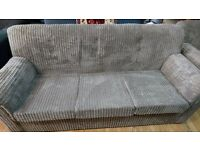 shell sofas for sale, 3 sitter and 2 of 1 sitter. Available now in our store , white chapel call us.