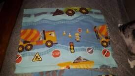 Childs construction single duvet cover set excellent condition