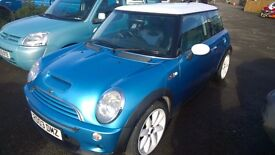 mini cooper s 2003 registration, 1600cc supercharged , 91,000 miles,