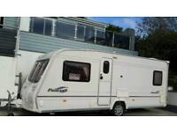 2006 Baily Pageant Bordeaux 4 berth Rear fixed bed. With motor mover. ,