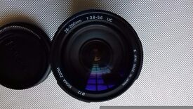 Ful frame PENTAX lens -Sigma 28-200mm Aspherical.