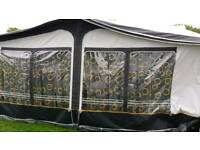 Daytona awning with curtains & ground sheet
