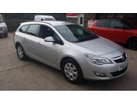 2012 / 61 PLATE Vauxhall Astra 1.7 CDTi ecoFLEX 16v Exclusive 5dr
