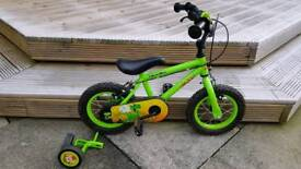 Boys 14 inch Halfords bike