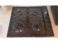 Brown Neff Gas surface mounted 4 ring hob