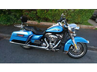 harley davidson road king 1584 touring 2012