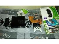 Boxed 250GB Slim Xbox 360 with games