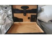 black leather breifcase good condition