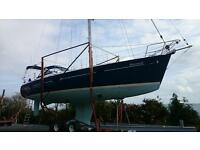 BENETEAU 411 CELEBRATION SAILING YACHT 2003 VOLVO 55HP DIESEL - £75000