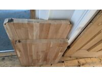 DIY NEW Coffee Table Desk Hardwood Solid Wood Oak Kitchen Worktop 40mm Cutting Board Butchers Block