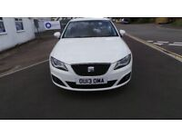 13 /2013 EXEO IN CANDY WHITE, FULL SERVICE HISTORY , BOSE,SAT NAV, FULL LEATHER,