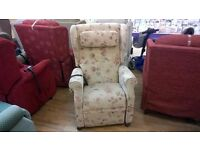 Petite Sized AJ Way Wendover Riser Recliner Chair, Delivery Available