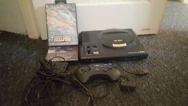 Sega mega drive Console 2xgames all cables