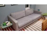 Free grey Ikea large sofa