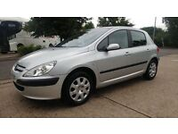 PEUGEOT 307 LX 1.4//AIR CONDITIONING//AUX AND USB//£600