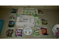 Nintendo wii job lot bundle wii fit steering wheel mario kart