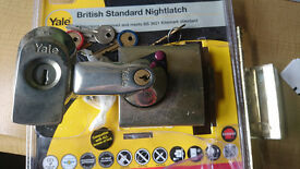Yale BS3621 Door Lock Night Latch