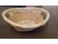 wooden weaved Basket