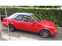 Ford escort xr3i cabriolet mk4