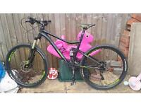 Merida 7.500 full suspension mountain bike 2015 model. not giant, Carrera, GT, specialized