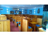 Staff required for busy Fish & Chip Shop/Cafe - Accommodation in private 2 bed flat