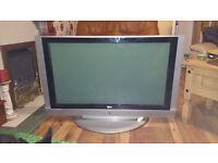 LG 42PC1DA LCD TV. GOOD CONDITION . FREE VIEW BUILD IN