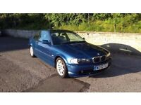 BMW 318ci E46 Coupe for spares or repairs, engine problems