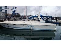 MAGNIFICENT ITALIAN 42FT SPORTS CRUISER £37500 JUST REDUCED TO SELL
