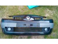 Renault scenic front bumber